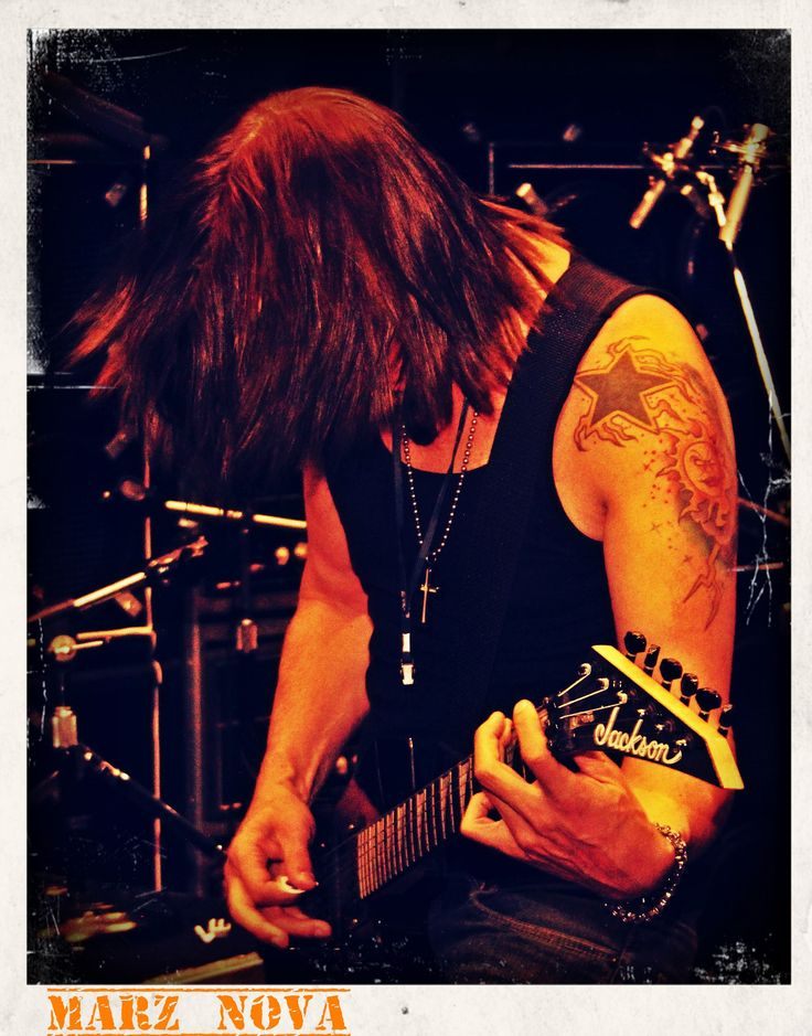 Marz Nova Vocals & Lead Guitar The Worshyp