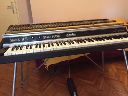 Rhodes 73 MK2 Electric Piano in Mitte - Hamburg Billstedt   Musikinstrumente und Zubehör gebraucht kaufen   eBay Kleinanzeigen