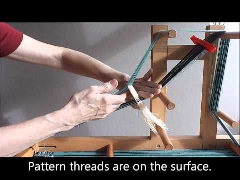 ▶ Baltic-Style Pick-Up Inkle Weaving Tutorial - YouTube