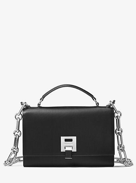 8874c13e7eef01 Michael Kors Bancroft Calf Leather Shoulder Bag | กระเป๋า ในปี 2019 ...