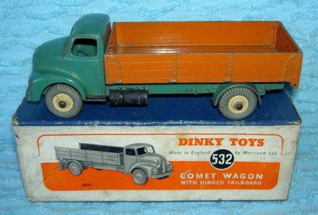 toy mercury trucks Vintage