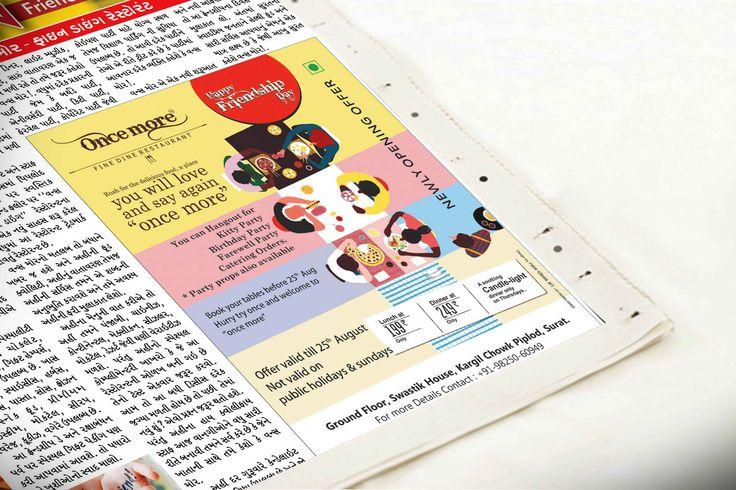 Press ads design
