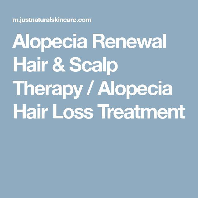 Alopecia Renewal Hair & Scalp Therapy / Alopecia Hair Loss Treatment