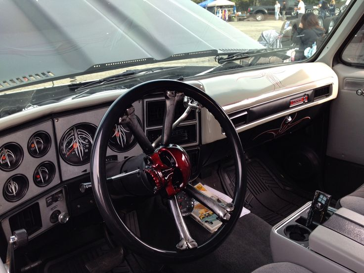 K5 interior (With images) | Chevrolet blazer, Truck ...