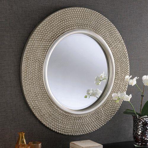 Found it at Wayfair.co.uk - Beaded Circular Mirror