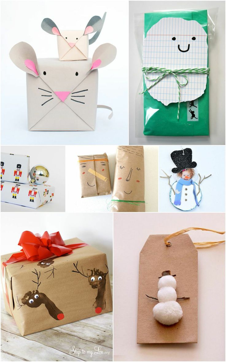 26 of my favourite DIY wrapping ideas and free printables | MollyMoo