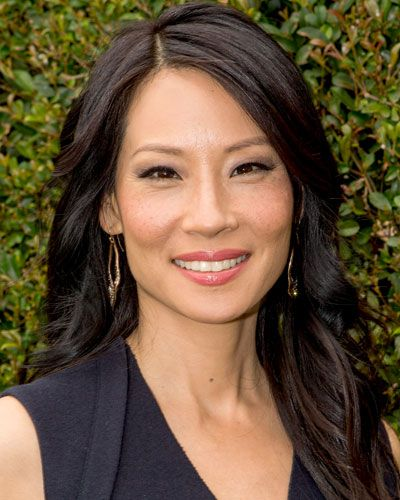 Amp Up Your Color Dark Brown Lucy Liu And Highlights
