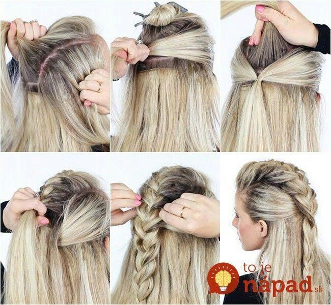 Half Top Braid #updos #Zöpfe #Haar #Frisuren #Haarblogger    – Frisuren –