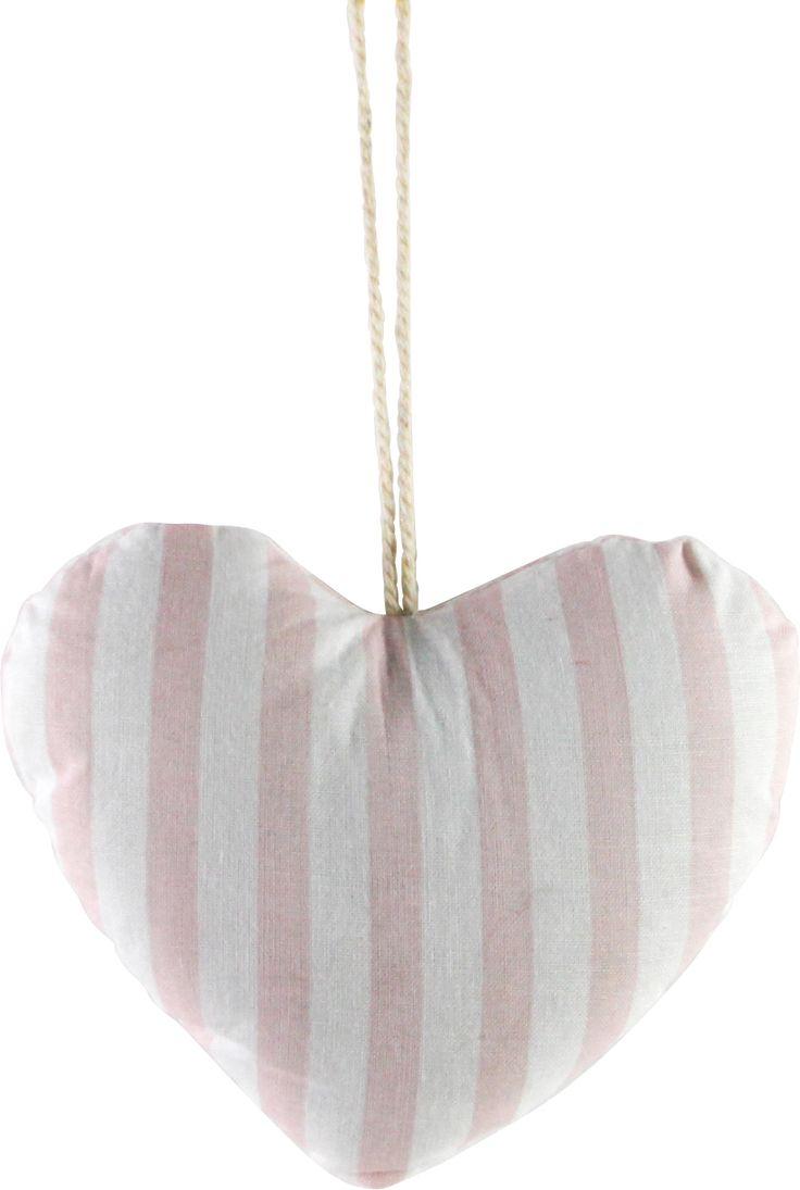 Aix-en-Provence pink striped heart www.earlysettler.com.au