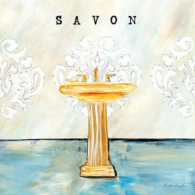 French Cottage Bath II  Caitlin Dundon