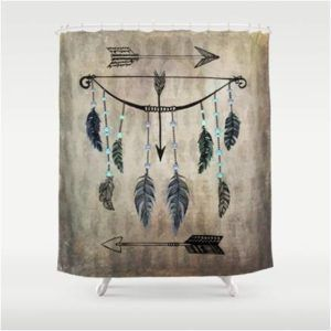 Native American Indian Bows Arrows Shower Curtain                                                                                                                                                                                 More