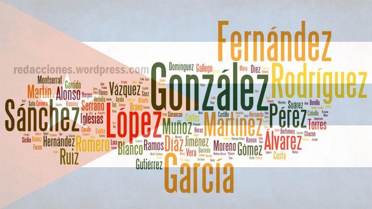 Los 10 #apellidos más #comunes entre los #cubanos http://www.cubanos.guru/los-10-apellidos-mas-comunes-entre-los-cubanos/