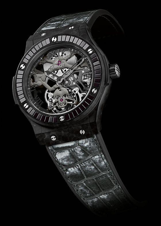 New from Baselworld 2014: Hublot Classic Fusion Tourbillon Skull | WatchTime - USA's No.1 Watch Magazine