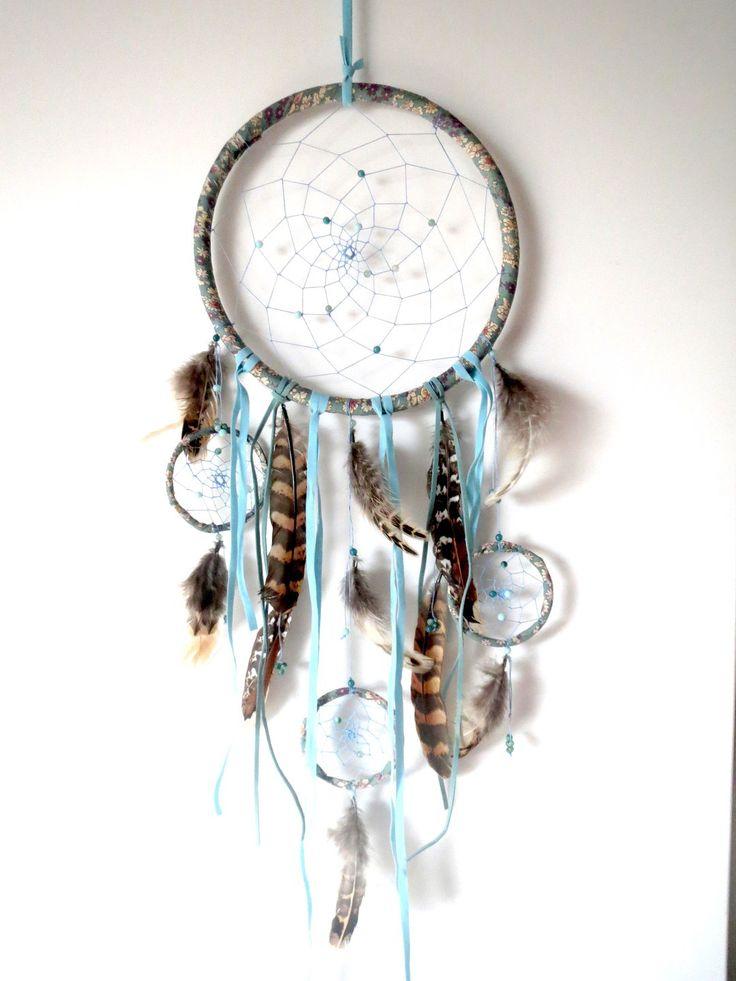 Commande sp ciale dreamcatcher attrape r ves mobile en for Perle d eau decoration florale