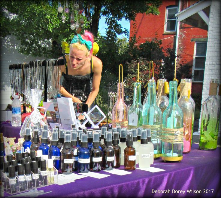 Psychic Fair, Hanson St, Rochester NH, sponsored by Under the Moon Shoppe, Rochester NH, September 2017
