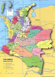 Resultado de imagen para mapa de colombia con todo su relieve