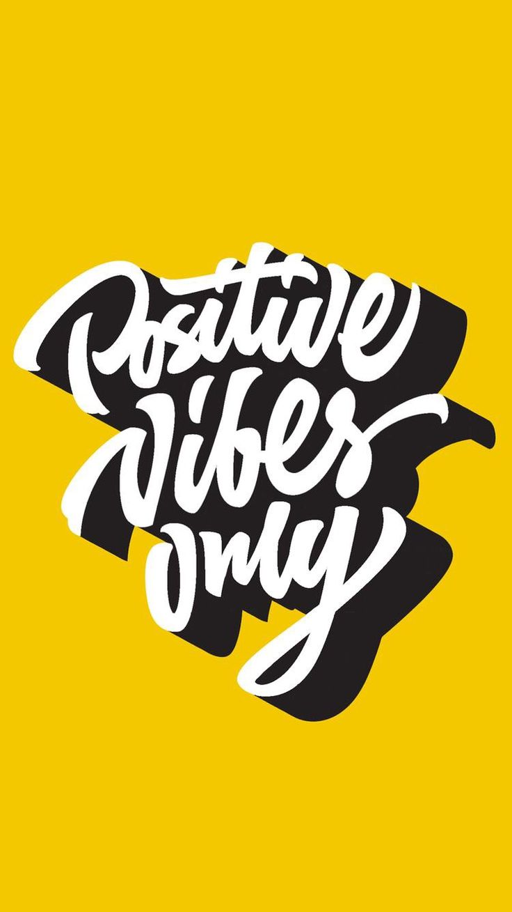 T shirt design inspiration typography - Positive Vibes Only Custom Hand Lettering Apparel T Shirt Print Design Typographic Composition Phrase Quote Poster Stock Vector From The Largest Library