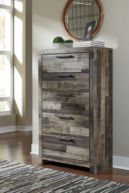 Benchcraft Bedroom Five Drawer Chest B200 46 Mobley Furniture Perry Warner Robinacon Ga