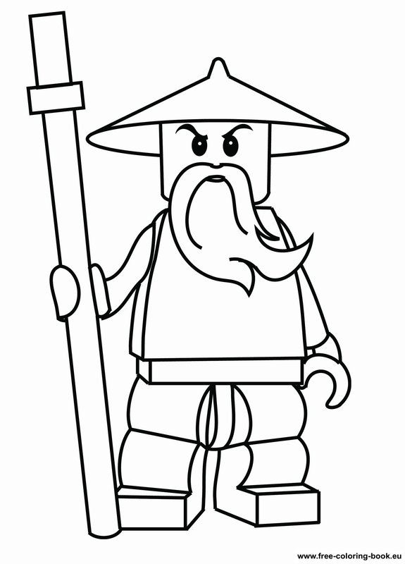 Coloring pages Lego Ninjago - Printable Coloring Pages Online. Create coloring book to give as party favor