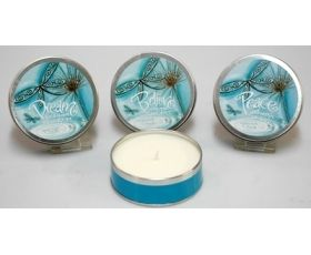 Lisa Pollock ´Blue Dragonfly´ Scented Candle