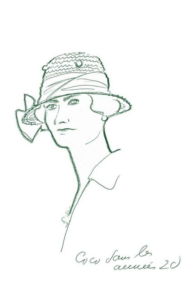 Карл Лагерфельд стал автором иллюстраций в книге, посвященной Коко Шанель | Nobelon Гастрольное Агентство