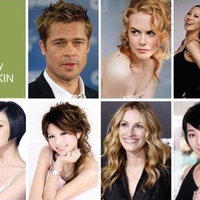 Celebrities for NuSkin AgeLoc Galvanic Spa and Anti-Aging Products.