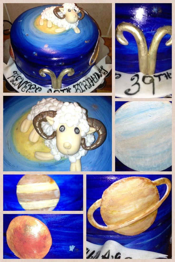 Taurus Zodiac Cake Cakes By Lula S Cakes Pinterest