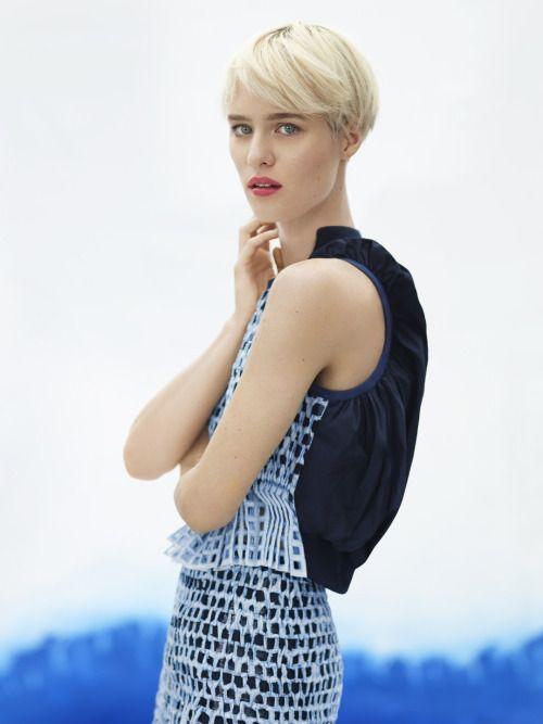 Mackenzie Davis, photographed by Thomas Whiteside for Vogue, May 2014.