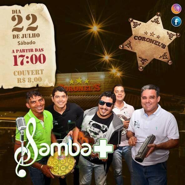 Grupo Samba Mais: Samba Mais no CORONEL'S