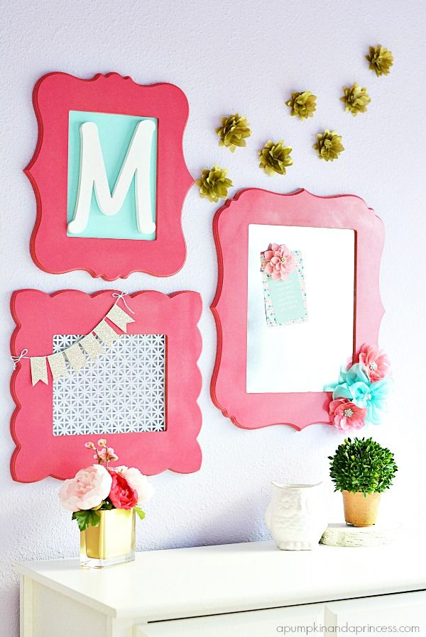 Saw these frames at Michaels. Get metal and make magnet board for Scrabble letters.