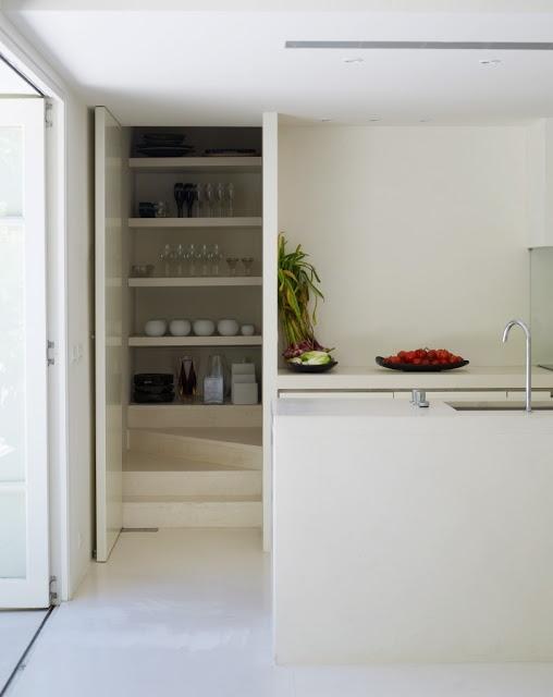 clean/simple kitchen