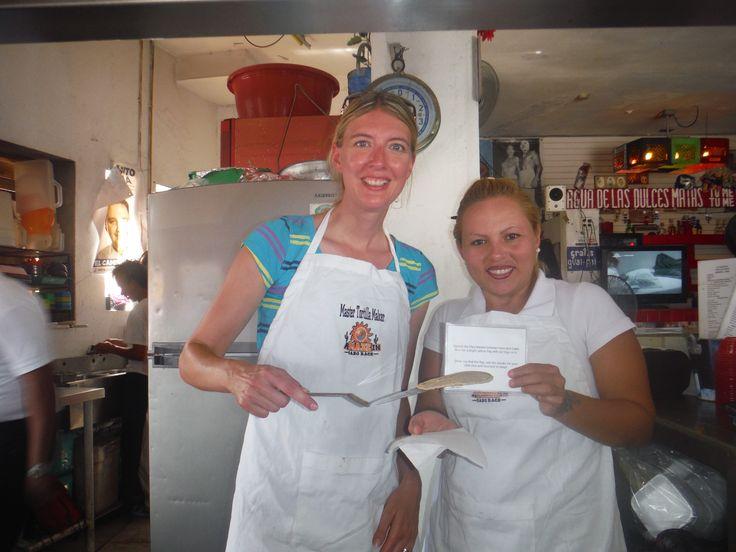 Smile A-MAZE-IN tortilla cheff!