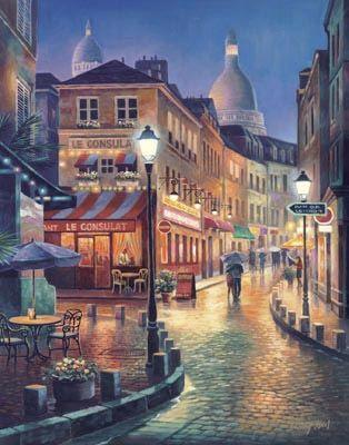 Night Stroll by Sung Kim