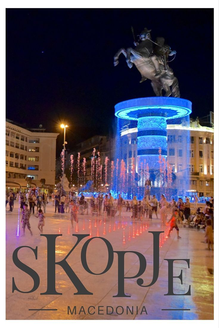 Skopje Macedonia has been undergoing a facelift. Described as a mini Vegas, we found nationalistic post communist kitsch on a grand scale. It was fabulous!