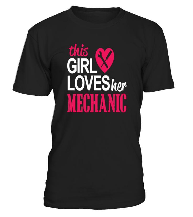 This Girl Love her Mechanic   boyfriend and girlfriend shirts, my girlfriend shirt, crazy girlfriend shirt, girlfriend gift ideas #girlfriend #giftforgirlfriend #family #hoodie #ideas #image #photo #shirt #tshirt #sweatshirt #tee #gift #perfectgift #birthday #Christmas
