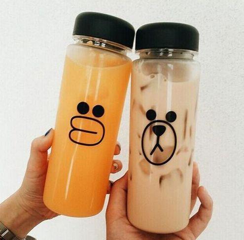 Fashion garrafa fruit water bottle infuser cheap 500ml sports water bottle Hot sale plastic water bottle