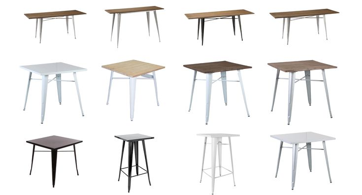 We stock a huge range of cafe tables perfect for fitting out your new cafe or restaurant without breaking the bank.  We source product from around the world and stock is readily available from our Perth showroom and warehouse in Belmont. We can also customise tables and furniture to meet your specific requirements.  Local pickup is available in Perth or we can also arrange shipping right across Australia, for small orders and large orders, even full containers of furniture!