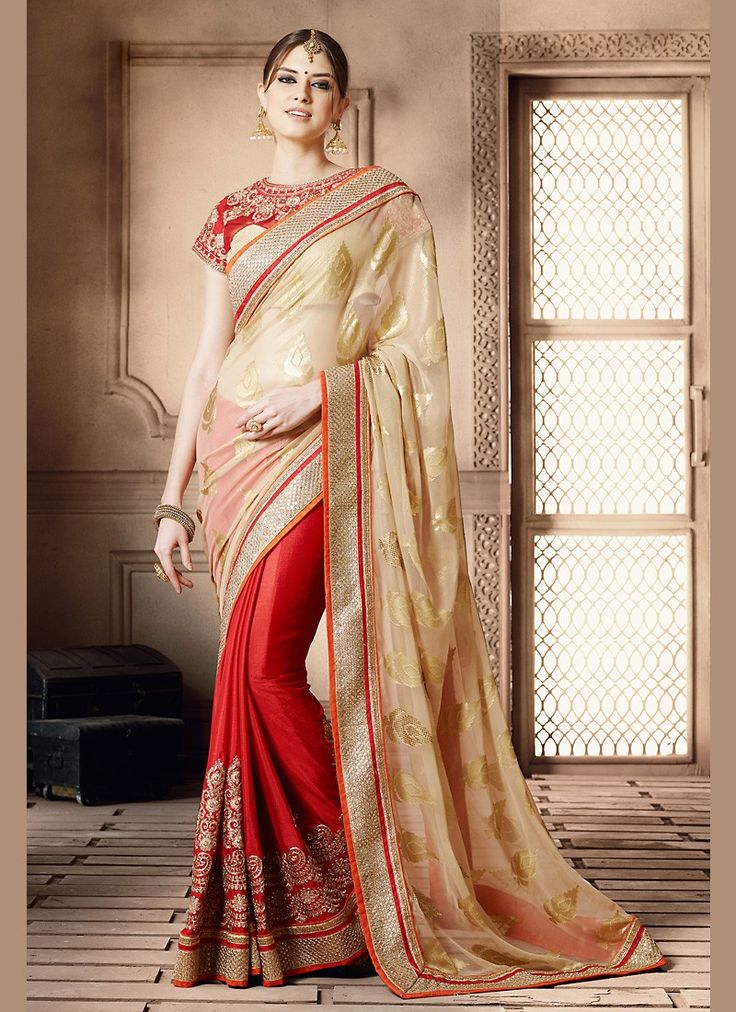 This Tan Brown Georgette Saree is including the beautiful glamorous showing the…