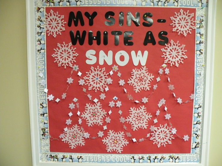 This is my bulletin board for January