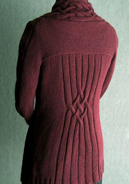 Ravelry: Mia Francesca cardigan pattern by Carol Sunday
