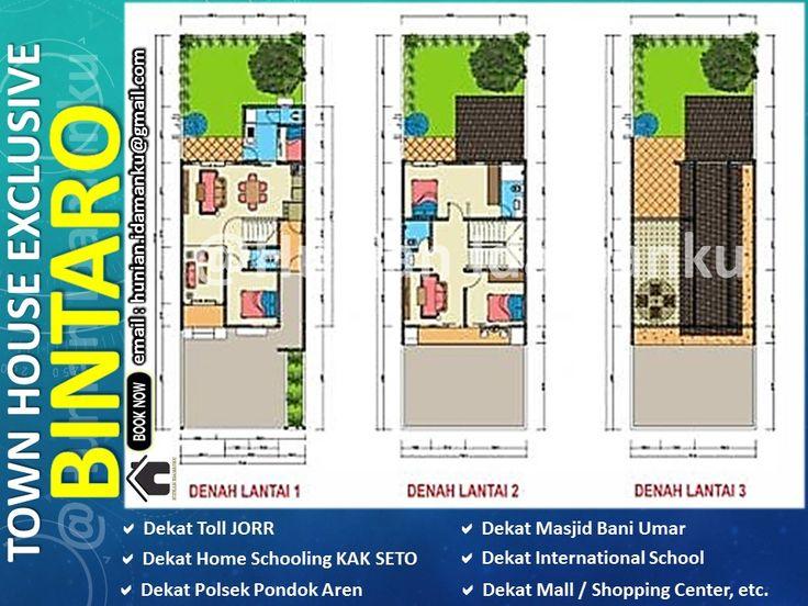 Rumah Minimalis Mewah Casa Bellevue Bintaro