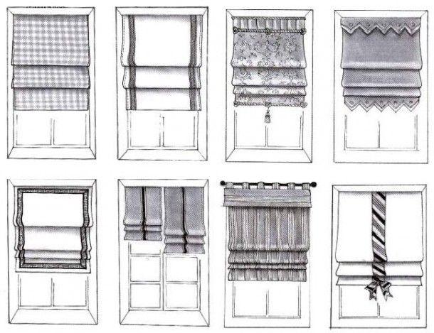 Римские шторы в интерьере | Sweet home