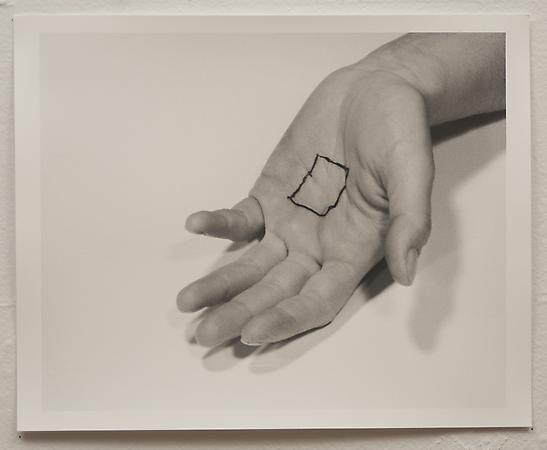 Liliana Porter, The Square V, 1973