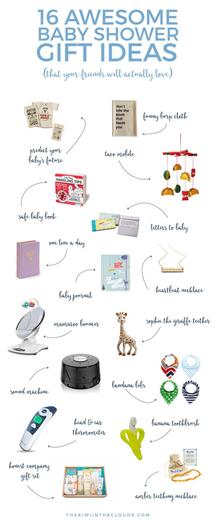 Give your friends the best baby shower gifts with these quirky, sentimental, and…