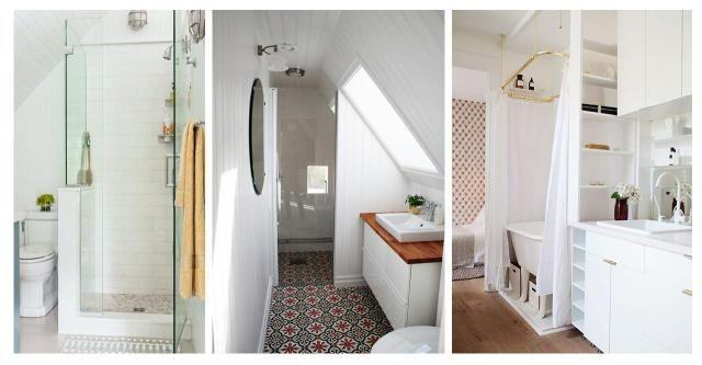 Mała łazienka w kolorze bieli: duży przegląd inspiracji #BIAŁA ŁAZIENKA #BIAŁA #ŁAZIENKA #INSPIRACJE