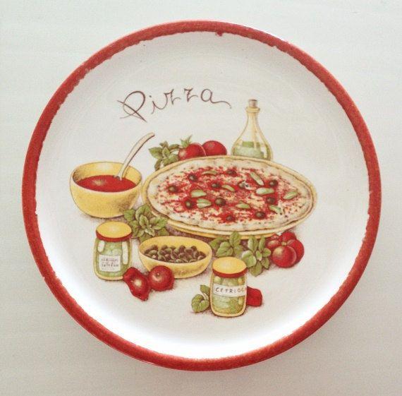 26 Best Ceramic Pizza Plates Images On Pinterest