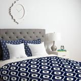 Aimee St Hill Leela Navy Duvet Cover   DENY Designs Home Accessories