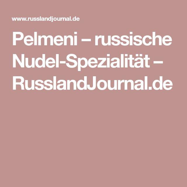 Pelmeni – russische Nudel-Spezialität – RusslandJournal.de