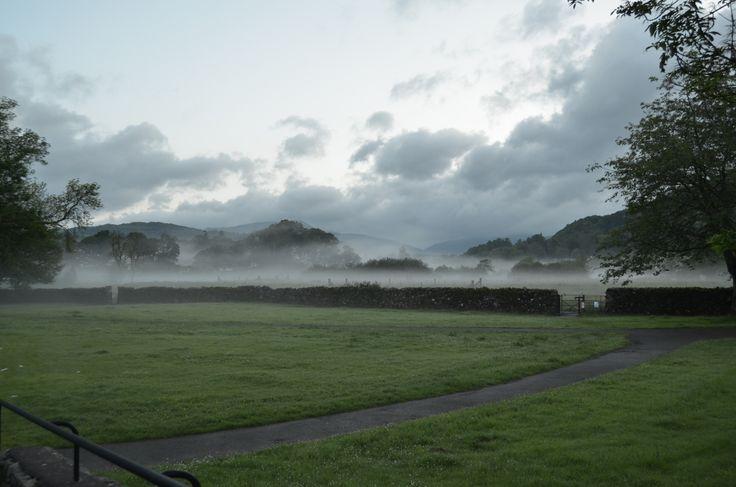 Mist over Borrans Park
