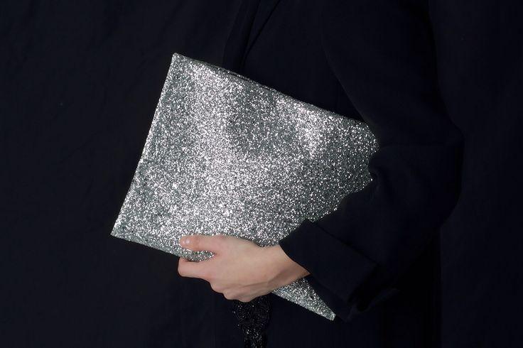 Вечерний женский клатч ручной работы - Galaxy - hand made clutch